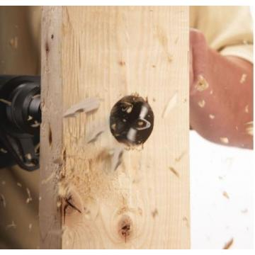 Bosch Daredevil Project Woodworking Drill Hole Spade Bit 10 Piece Tool Set Blue