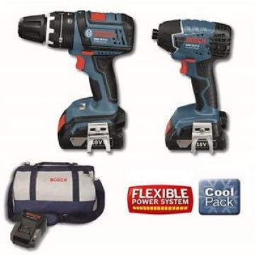 Bosch 18V 2.0Ah Li-ion Cordless Drill Driver Combo Tool Kit 18VSBR2-C