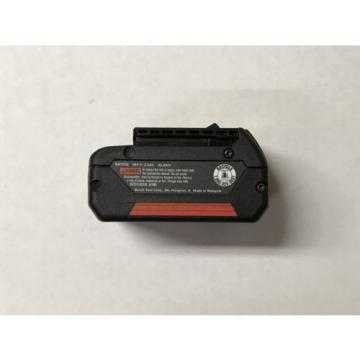 New Genuine Bosch BAT618 18v 2.6Ah 46.8Wh Battery Like BAT618G BAT619 BAT620