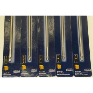 Lot of 5 Bosch DLSB1007 DareDevil 5/8 in. x 16 in. Spade Drill Bit
