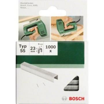 Bosch 2609255825 12mm Type 55 Narrow Crown Staples (Pack of 1000)