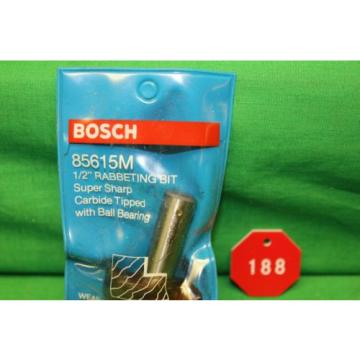 BOSCH-85615M 1/2 In. x 1/2 In. Carbide Tipped Rabbeting Bit NEW