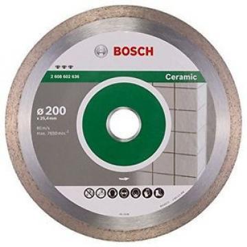 BOSCH, 2608602636, Disco diamantato migliori per Ceramica, 200 x 25,40 x 2,2 x 1