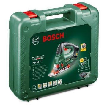 NEW Bosch PST18 Li 2.0AH Lithium ION Cordless Jigsaw (with 2.0Ah Battery)