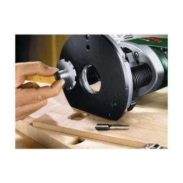 Bosch Wired POF 1200 AE Woodworking Router With Vacuum Attachment