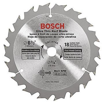 "Bosch 6-1/2"" 18 Tooth Circular Saw Blades CBCL618A New"