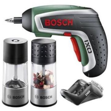 Bosch IXO Accessories Set Of Spice Mill + BBQ Blower + Universal Cutting Adaptor