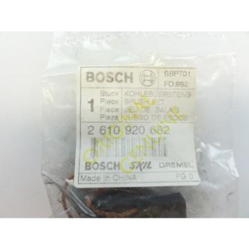 Bosch #2610920682 New Genuine Brush Set RS20 RS15 RS10 RS35 Reciprocating Saw