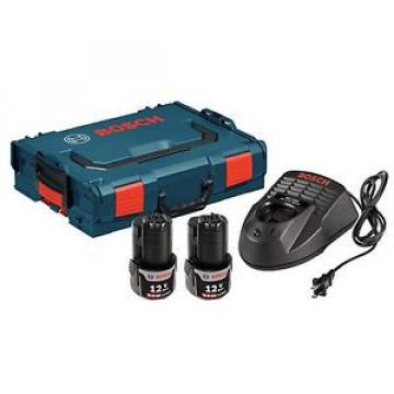 Bosch SKC120-202L 12-Volt Max Lithium-Ion Starter Kit with 2 Batteries Charge...