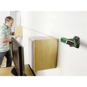 Medidor laser, Nivel de burbuja, medición manual  Bosch PLL 1 P - NUEVO