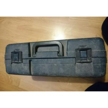 bosch angle grinder and accessories carry case