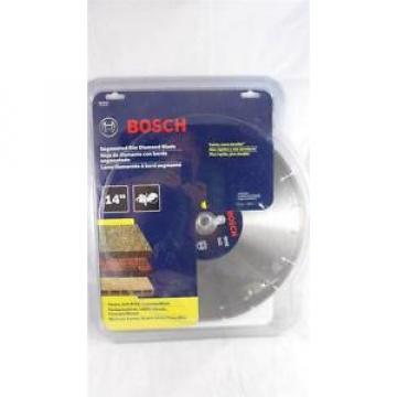"Bosch DB1441S 14"" Standard Segmented Rim Diamond Blade for Universal Rough Cuts"