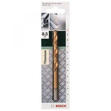 Bosch 2609255106 DIY - Punta per metallo HSS-TiN 8.5 x 75 x 117 (1)