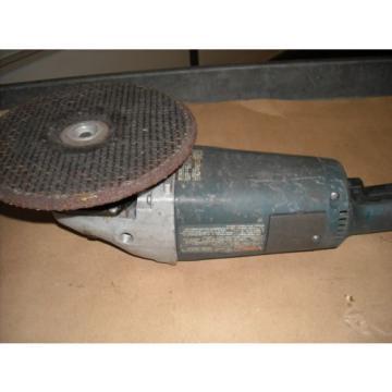 "1752 Bosch 9"" Electric Angle Sander, 6000 RPM, Rebuilt"