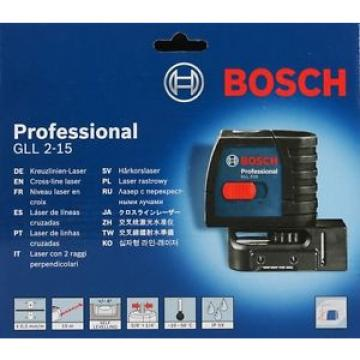 Bosch GLL 2-15 Self Leveling Professional Line Laser
