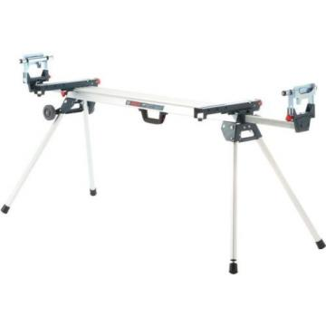 Folding Miter Saw Stand Bosch 32 1 2 in. Adjustable Leg Portable Rollable Tool