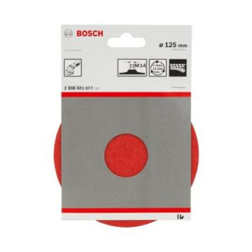 Bosch 2608601077 125 mm 12500 RPM Velcro Type Fastening Plate