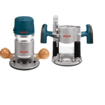 Bosch 2.25-HP 12 Amp Variable Speed Fixed Plunge Corded Shop Woodworking Router