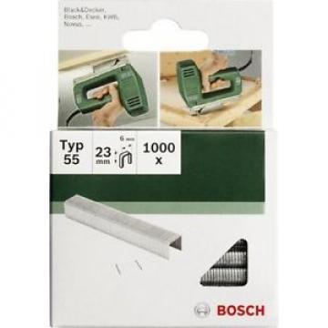 Bosch 2609255828 - Set di 1000 punti metallici piatti tipo 55, larghezza 6 mm, s
