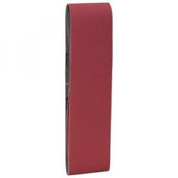 Bosch Accessori 2608606095 - Kit nastro abrasivo 75 x 610 mm, 60, 80, 100, 3 pz