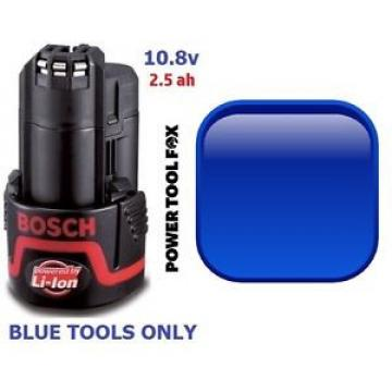 Bosch BLUE 10,8V 2.5ah BATTERY 2607337223 2607336879 1600Z0002X 885 B