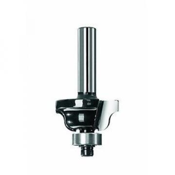 Bosch 2609256666 - Fresa per profilatura B, con due lame, carburo di tungsteno,