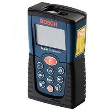 BOSCH, Bosch, Telemetro laser DLE 40 con batterie e custodia protettiva