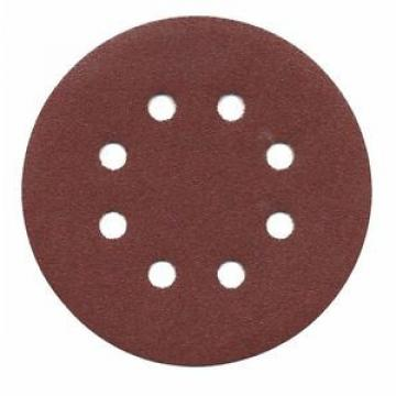 """BOSCH SR5R105 5"""" 100 Grit Hook and Loop Discs, 8-Hole - 50 pack"""