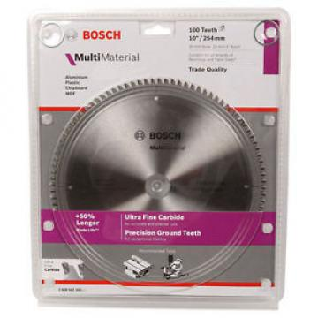 Bosch Multi Material Circular Saw Blade 254mm - 60T, 80T or 100T