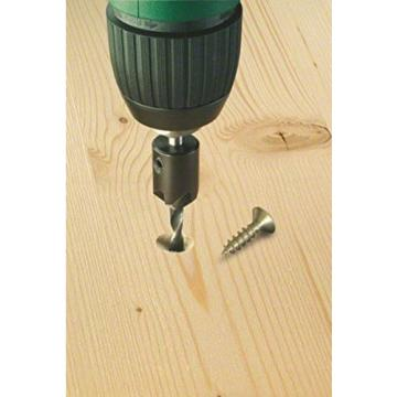 Bosch 2609255217 Wood Drill Bit with 90 Degree Countersink/ Diameter 4mm NEW