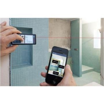 Bosch GLM100C Professional Laser Distance  Direct Digital Transfer Measure