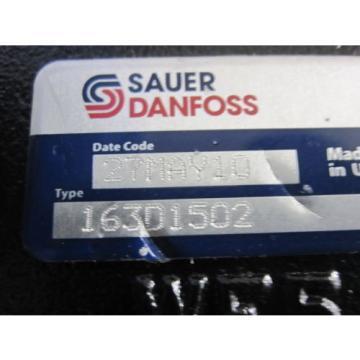 NEW SAUER DANFOSS HYDRAULIC PUMP # 163D1502