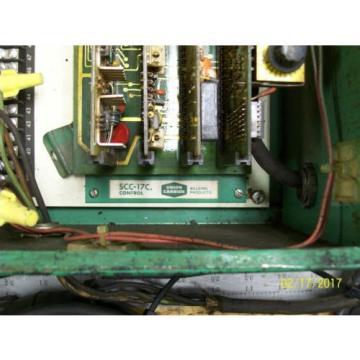 LINDE UNION CARBIDE SSC-17A CONTROL BOX 0-10 WELD CURRENT 10 AMP LINE FUSES
