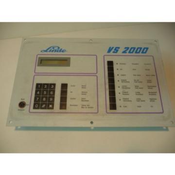 Linde VS 2000 Steuergerät Steuerung Regler Kühlaggregat
