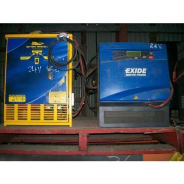 Forklift Battery Charger 24-36-48 Volt - Large Range - Toyota Linde Nissan