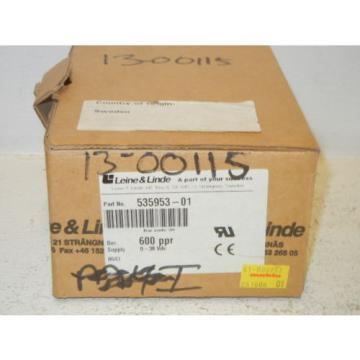LEINE & LINDE 535953-01 NEW ENCODER RHI 593 9-30 VDC 600 PPR HTL 53595301