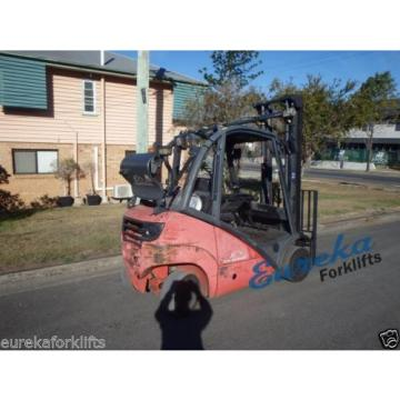 LINDE 2.5 TON USED FORKLIFT: AUTO, LPG & SIDE SHIFT 2005 MODEL - ONLY 6765 HOURS