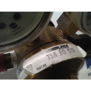 LINDE Gas regulator TSA 80 580 CGA 580  TSA80580