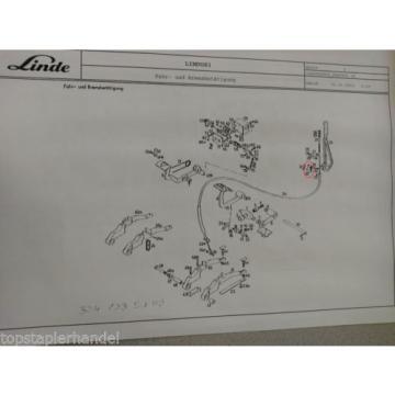 Microinterruttore Linde 0009733012 E12/15/20/25 L10/12 BR 035,141,324,325,