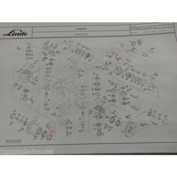 Ölsimmerring AS 65x85x12P80 für Linde Stapler Hersteller Nr. 0009280341 Dichtung