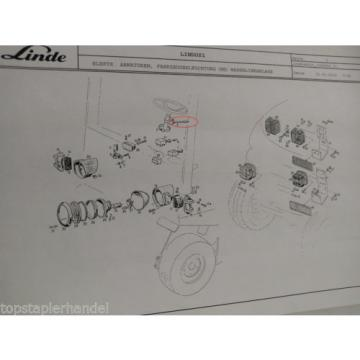 Lenksäulenschalter Schalter Linde Nr. 0009732612 Typ E20/25/30 H12/15 BR 325 uvm