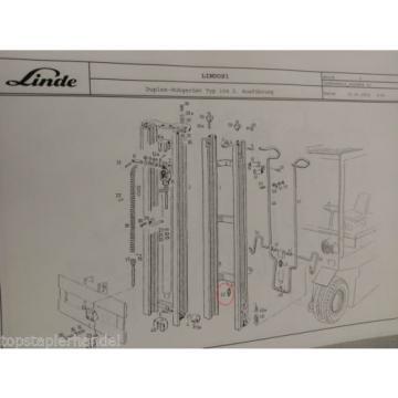 Valve Overpressure Flow Linde no. 0009442339 Type E20/25/30 H20/25/30 etc
