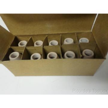 """Lot (10) New Linde No. 7 Carbide Ceramic Torch Tip, 0.43"""" OD, HW-17 & 18, 54N32"""