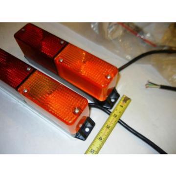 143822 Linde-Baker Forklift, Strobe-Amber/Red light one lot of 2 pcs.