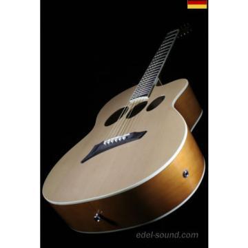 40` Westerngitarre Jane natur, breiter Hals, Decke Fichte, Korp. Linde, Cut, EQ,