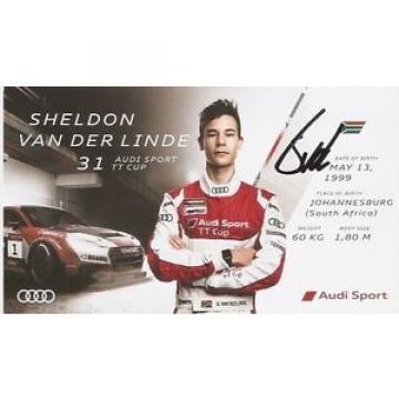 Sheldon van der Linde (2) (AUDI 2016) (DIN A5)