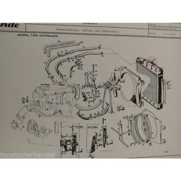 Radiator cap Linde 0009184606 H12/15 H20/25/30/35/40 BR 330,331,332