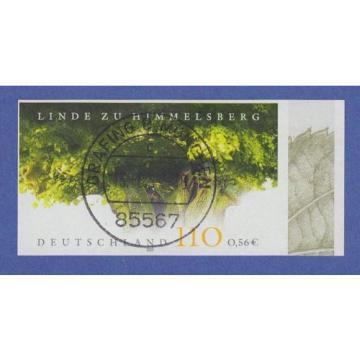 Bundesrepublik 2001 Linde zu Himmelsberg UNGEZÄHNT Mi.-Nr. 2208 U gestempelt
