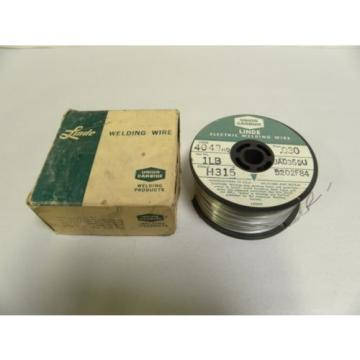 "1 Lb Pound  .030"" Dia. Union Carbide Linde 4043HQ Welding Wire Roll (A5)"