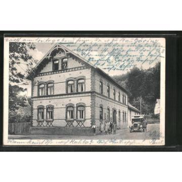 schöne AK Geunitz, Gast- und Logierhaus zur Linde
